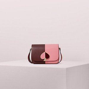 NWT Kate Spade Nicola Small Bicolor Shoulder Bag